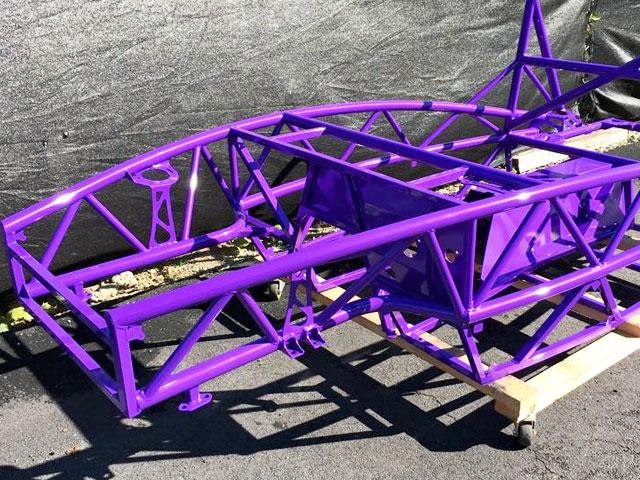 purple-dunebuggy-frame - Atlas Protective Coatings