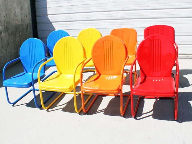 Powder Coated Lawn Chairs