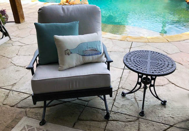 Perfect Patio Chair Cushions & Metal Finish
