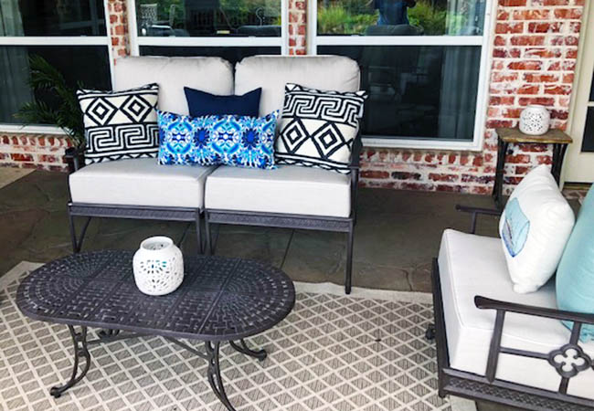 Refinished Powder Coats for Outdoor Furniture Sets